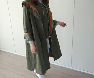 [GJP50RC] primium embroidery loose field jacket Jumper
