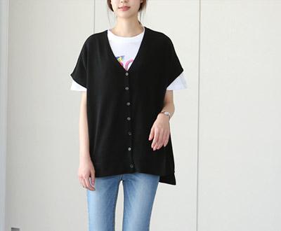 [EVT87D353] Shoulder drop-rays Pit Vest