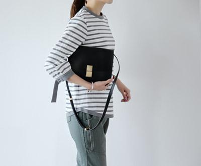 [MBL06GJ] Tori Casual Stripe Blouse