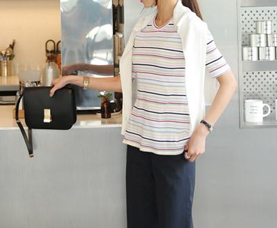 [MCTP68KM] Sonia Rainbow Knit
