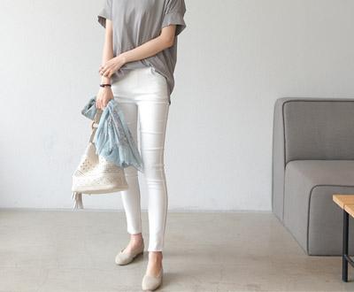 [NPT20P235] Summer Magic spun cotton Leggings Pants