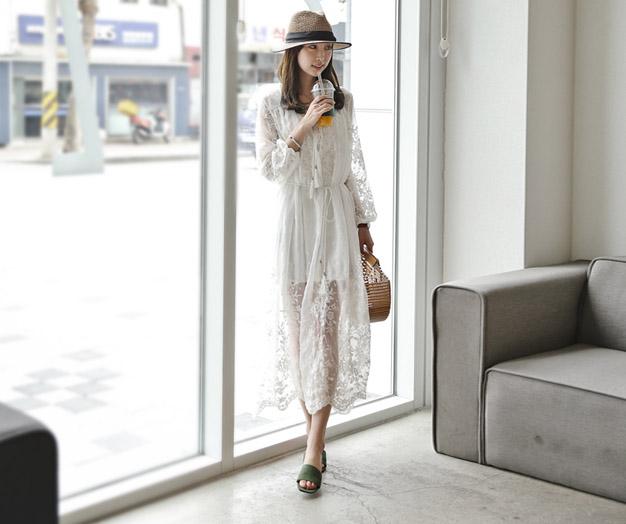 [ASET05OJN_N4] Anna Silk Race Dress